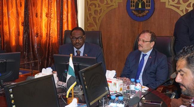 Başbakan Yardımcısı Sudanlı bakanlarla görüştü