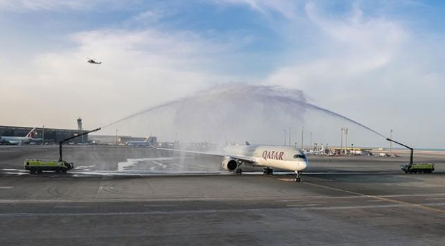 Dünyanın en büyük ve en güçlü ticari uçağı Katarda