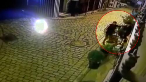 Güvenlik görevlisi hırsızı suçüstü yakaladı