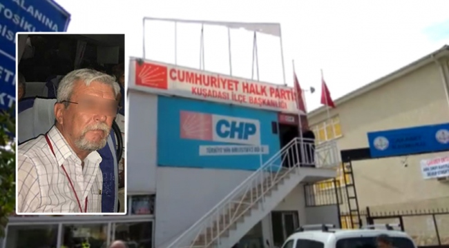 CHPli yönetici taciz iddiasıyla tutuklandı