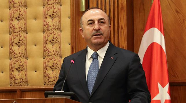 Dışişleri Bakanı Mevlüt Çavuşoğlu: PKK/YPGyi korumak için gelenlere izin vermeyiz