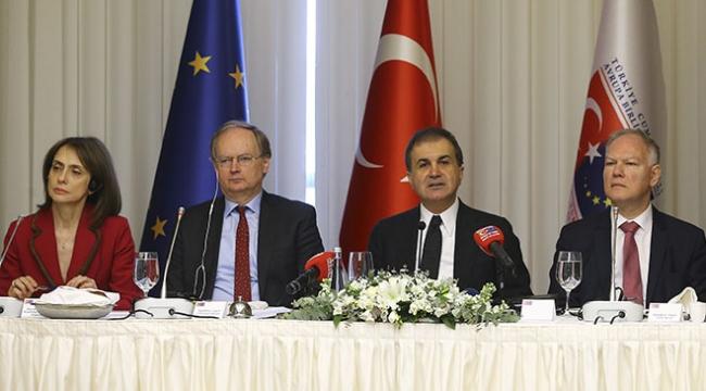 AB Bakanı Ömer Çelik AB Büyükelçilerine Zeytin Dalı Harekatını anlattı