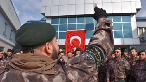 Cumhurbaşkanı Erdoğana suikast girişimde bulunan darbecileri yakalayan TİM Afrinde