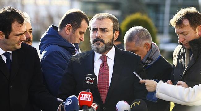 AK Parti Sözcüsü Ünal: Bu tür meselelerin iyi hali olmaz