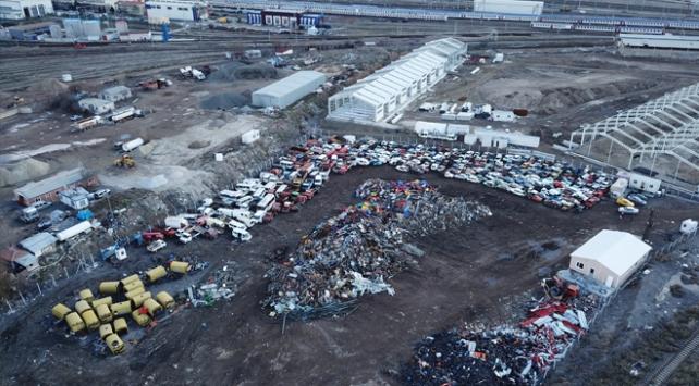 Ankarada hurda araçların yeni adresi belli oldu