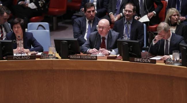 Rusya, Suriyede insani ateşkes istenilen BMGK tasarısına itiraz etti