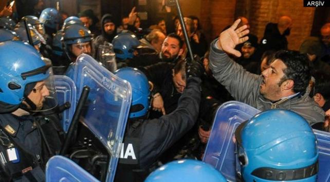 İtalyada ırkçılık karşıtı gösteri: 3 yaralı