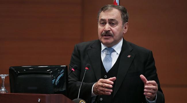 Orman ve Su İşleri Bakanı Eroğlu: İçme, kullanma ve sanayi suyuyla ilgili sıkıntı yok