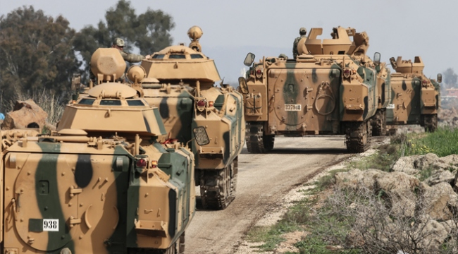 TSK ve ÖSO Afrinde 415 kilometrekareyi terörden arındırdı