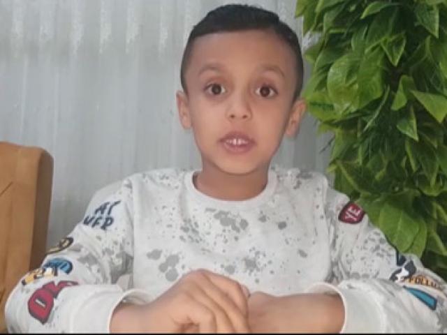 Suriyeli çocuktan duygulandıran paylaşım