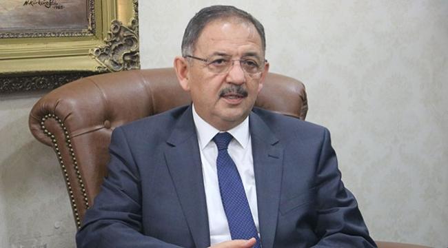 Çevre ve Şehircilik Bakanı Özhaseki: Şehirler bizi dönüştürmeye başlıyor