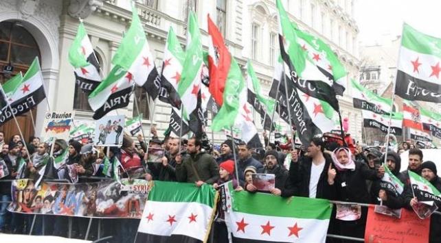 Viyanada Doğu Gutadaki katliamlar protesto edildi