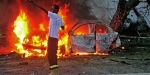 Somalinin başkenti Mogadişuda bomba yüklü araçlarla saldırı