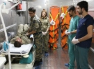 TSK'dan sınıra seyyar ilk yardım hastanesi