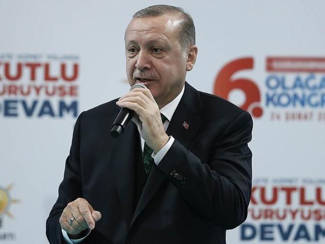 Cumhurbaşkanı Erdoğan: Şu ana kadar Afrinde 1951 terörist etkisiz hale getirildi