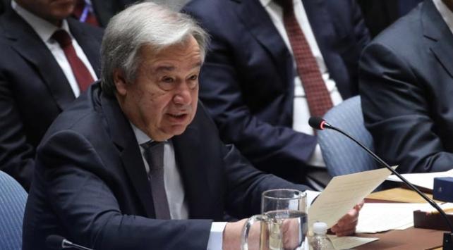 BM Genel Sekreteri Guterres, ateşkesin derhal yürürlüğe girmesi çağrısı yaptı