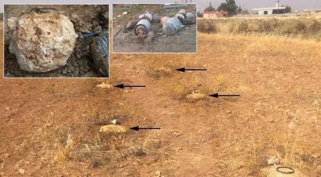 Afrinde kaçan teröristlerin tuzakladığı mayınlar imha edildi