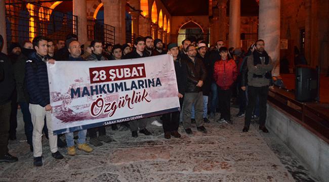 28 Şubat mağdurları için bir araya geldiler