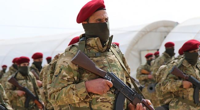 Kürt Şahinleri Mehmetçikle omuz omuza Afrinde