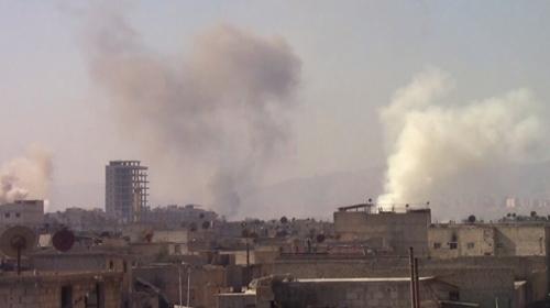 Esed rejimi Doğu Guta'daki saldırılarına devam ediyor