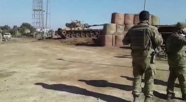 Türk topçuları terör hedeflerini böyle vurdu