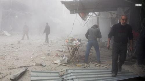 Esed rejimi ateşkese kararına rağmen Doğu Guta'ya saldırılarını sürdürüyor