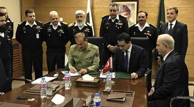 Pakistan denizaltıları Türkiyeye emanet