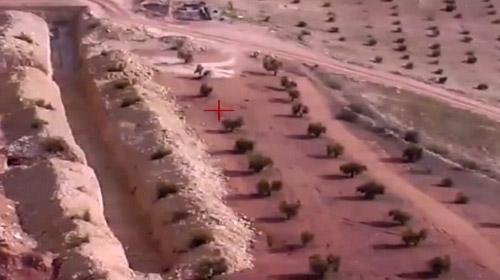 Teröristlerden temizlenen Sakarkaya Tepesi havadan görüntülendi