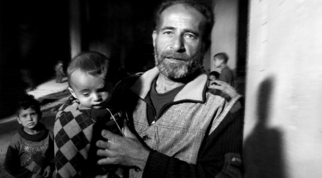 Doğu Guta ablukasının simgesi Kerim bebek de yer altına sığındı