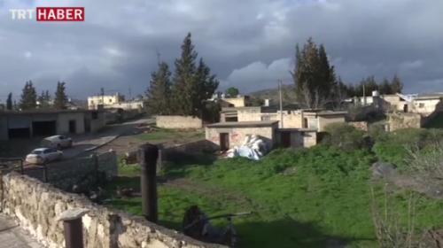 Zeytuna Köyü'nde terör tünelleri temizleniyor