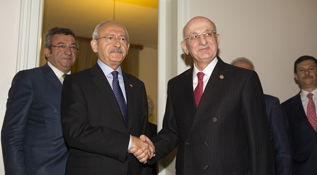 TBMM Başkanı Kahramandan Kılıçdaroğluna geçmiş olsun ziyareti
