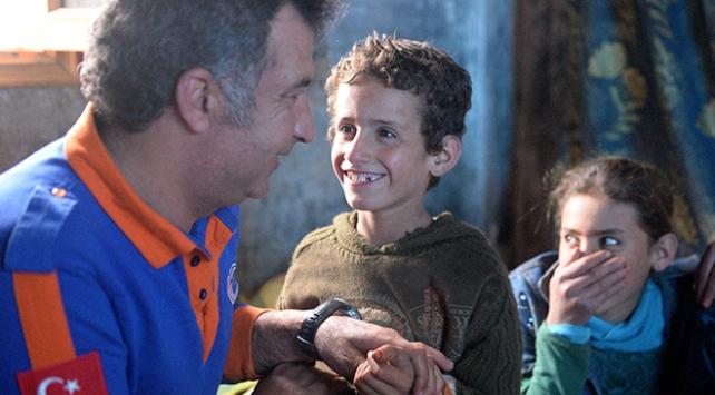 AFAD, Suriyeli ailelerin dertlerine derman oldu
