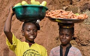 Kara kıtanın güneş yüzlü çocukları