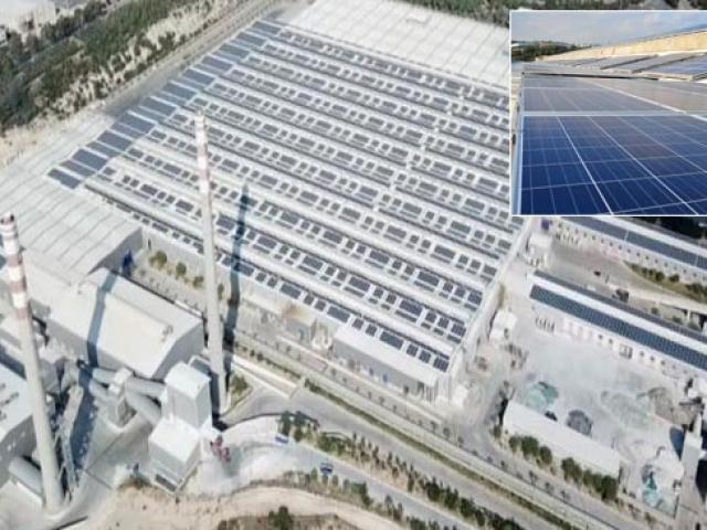 Dünyanın en büyük altıncı güneş enerjisi santrali Mersinde