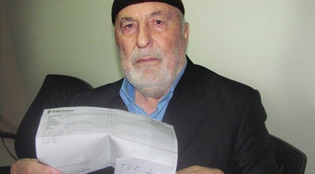 Emekli maaşını Mehmetçik Vakfına bağışladı