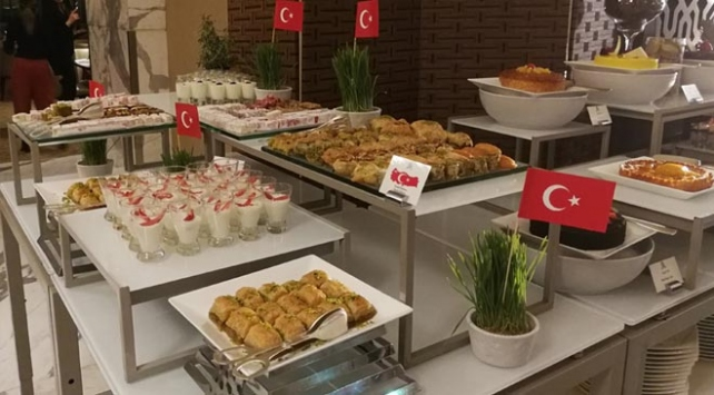 Türk yemekleri Katarda tanıtıldı