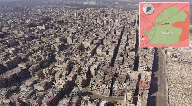 Esed rejiminden Doğu Gutayı tümüyle ele geçirme planı