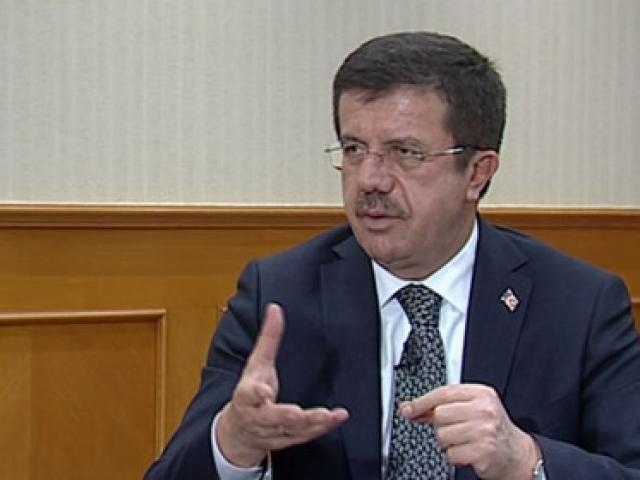 Ekonomi Bakanı Nihat Zeybekci TRT Habere konuk oldu