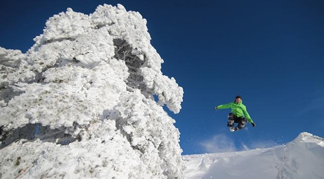 2300 rakımlı dağda kayak ve termal keyfi