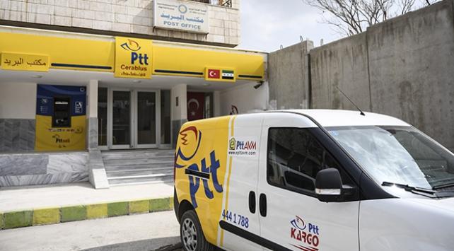 PTT, bankacılık ve lojistik hizmetiyle Cerablus halkının yanında