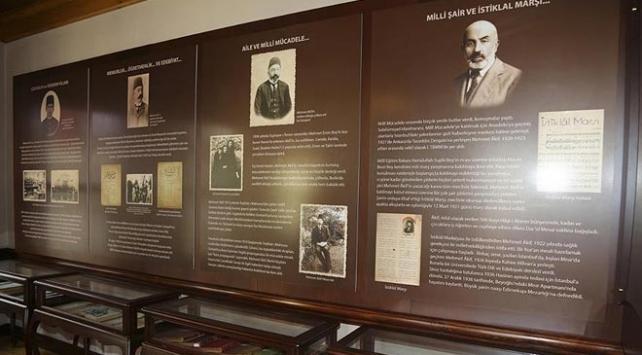 Beykozda Mehmet Akif Ersoy Şiir Müzesi açıldı