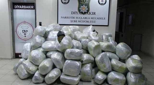 PKKnın finans kaynaklarına darbe: 5 ton uyuşturucu ele geçirildi