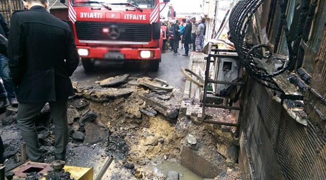 İstanbulda doğalgaz borusunda patlama: 4 yaralı