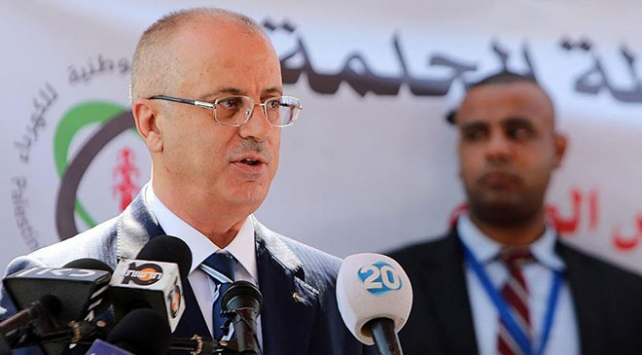 Filistin Başbakanı Hamdallahın konvoyunda patlama