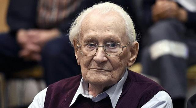 Auschwitz saymanı, Nazi subayı Oskar Gröning 96 yaşında öldü