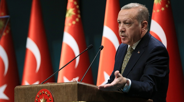 Cumhurbaşkanı Erdoğan, il müftülerini ağırladı