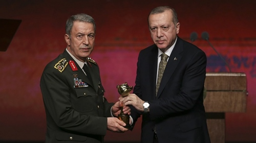 Uluslararası İyilik Ödülleri kapsamında Vefa Ödülü TSK'ya verildi