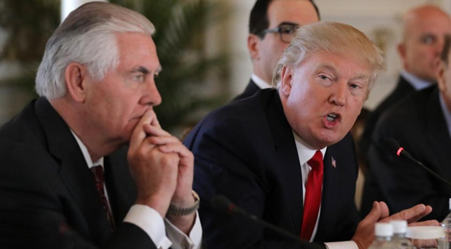 Trumptan Tillersonu görevden almasının ardından ilk açıklama