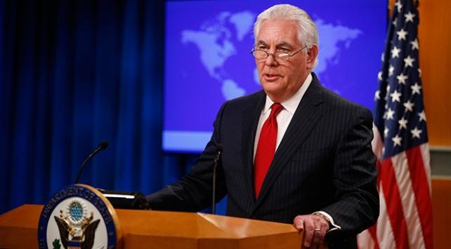 Tillersonun görevi 31 Martta sona erecek
