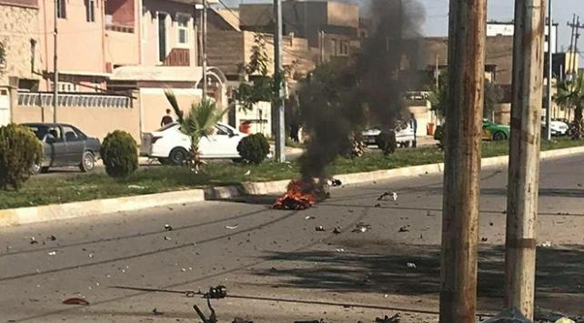 Kerkükte bomba yüklü motosikletle saldırı: 2 yaralı